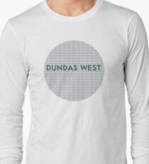 DUNDAS WEST Subway Station Long Sleeve T-Shirt
