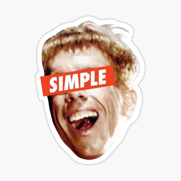 Simple Jack Sticker