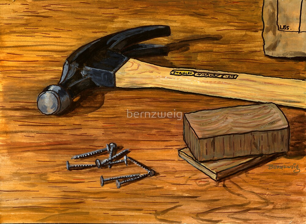 Hammer and Nails by bernzweig