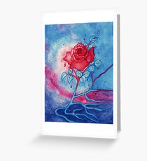The Chimera Rose  Greeting Card
