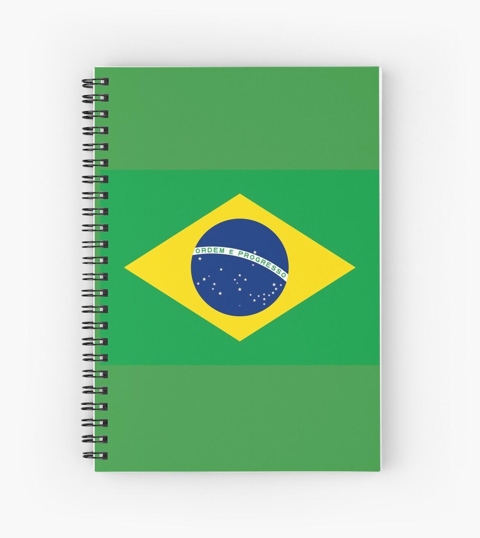 Cuadernos de espiral «bandera de brasil bandeira do brasil» jpg 1171x1313  Imagens da bandeira d3fa734d2c46a
