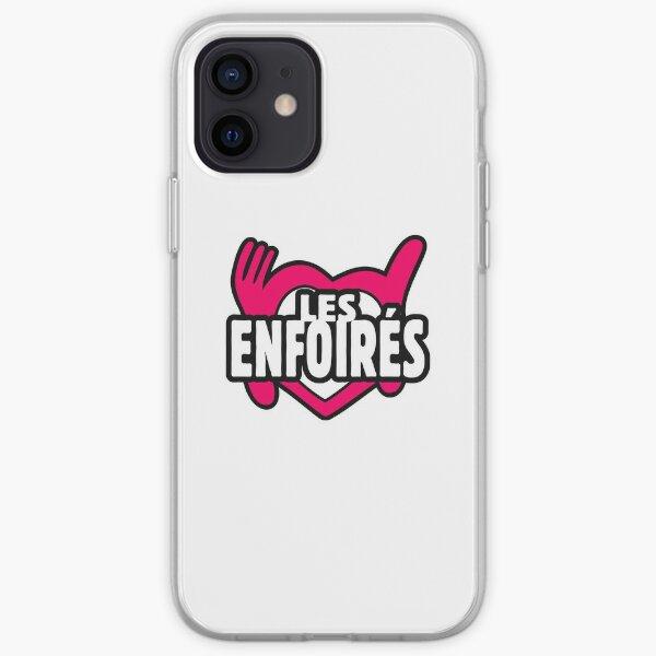 Il y a Enfoirés iPhone Soft Case