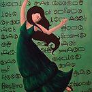 Dancing Girl Cipher by Anna Van Skike