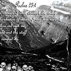 Psalms 23:4 by CheyenneLeslie Hurst