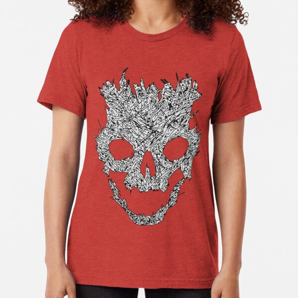 Halo Emile Skull Tri-blend T-Shirt
