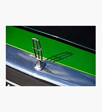 Lincoln Hood Ornament Photographic Print