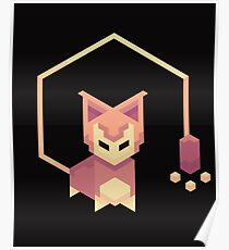 Isometric Skitty Poster