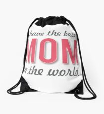Mother's Day (only for her) Drawstring Bag