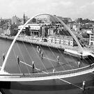 Millenium Bridge by JoLennox
