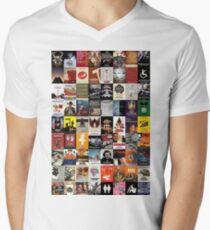Kubrick Movie Posters Men's V-Neck T-Shirt