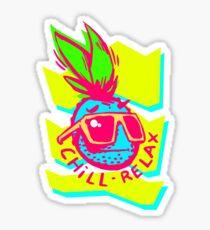 Pineapple Sunglasses Aloha Beaches Hawaiian Sticker