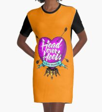 Head Over Heels the musical Graphic T-Shirt Dress