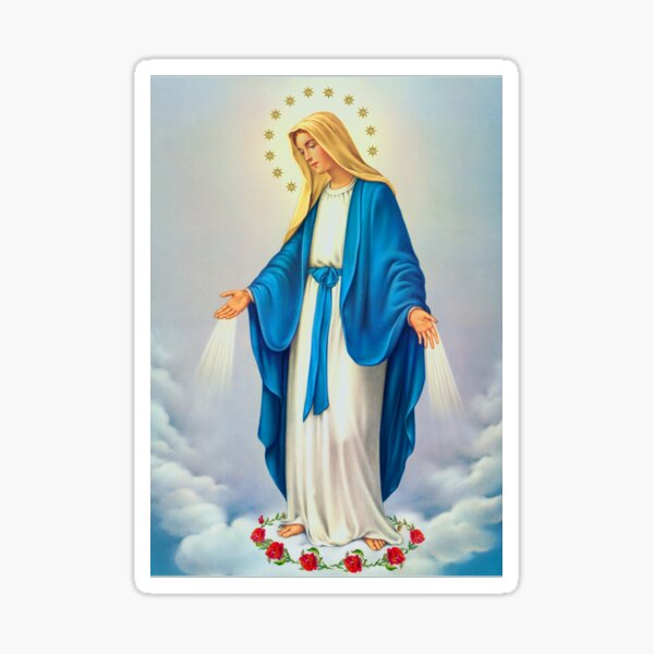 Virgin Mary Immaculate Conception Sticker