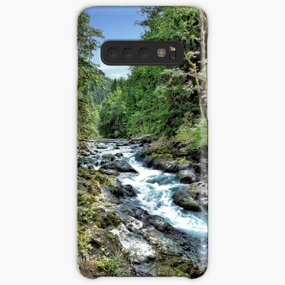 Sol Duc River - Olympischer Nationalpark Hülle & Klebefolie für Samsung Galaxy