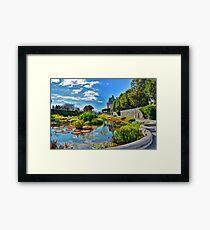 Biltmore Estate Gardens Framed Print