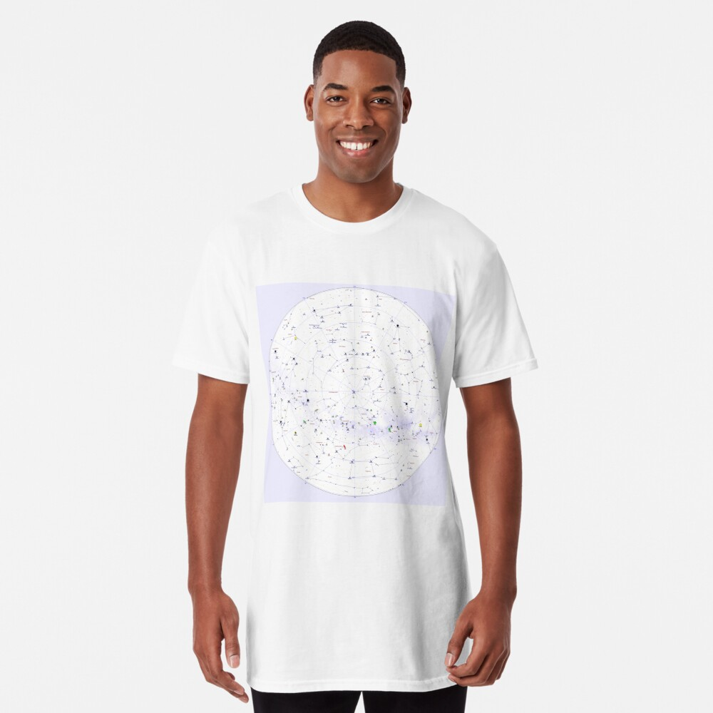 Constellation Map, ssrco,long_t_shirt,mens,fafafa:ca443f4786,front,square_three_quarter,x1000-bg,f8f8f8