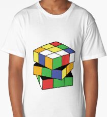 Retro Puzzle Love Long T-Shirt