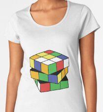 Retro Puzzle Love Women's Premium T-Shirt