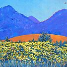 Gorse and Bens, Galway, Ireland by eolai