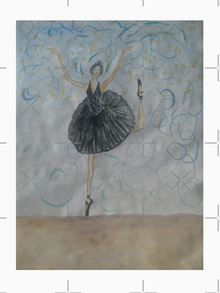 Black Swan: Ballerina Dacing by IvanaKada