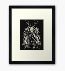 The Supplicant Framed Print