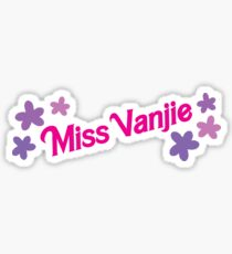 Miss Vanjie Sticker