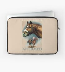 Affirmed with Name plate Laptop Sleeve