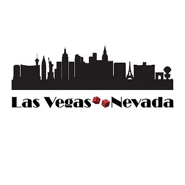 Las Vegas Nevada Skyline Cityscape by Snug-Studios