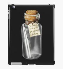 Everyone dies... iPad Case/Skin