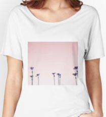 Sunset vintage palms Women's Relaxed Fit T-Shirt