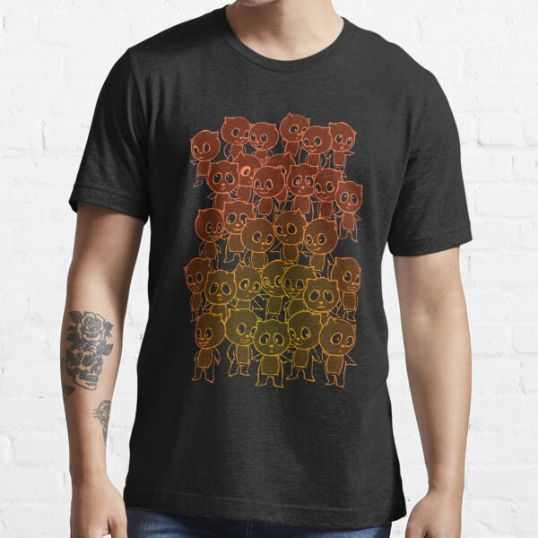 Crazy Panda (Orange) Essential T-Shirt