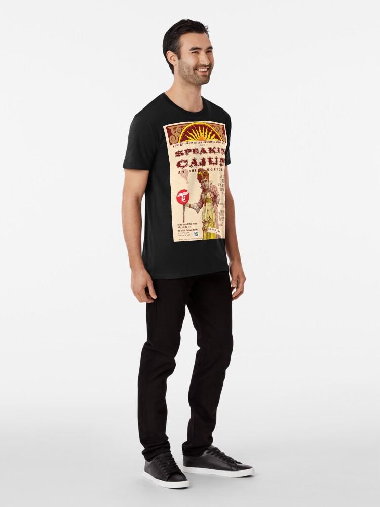 Alternate view of Speakin' Cajun at the Panopticon Premium T-Shirt