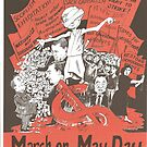 May Day Poster Victoria 2009 by Gary Shaw