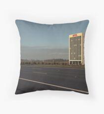 Hotel Nowhere Throw Pillow