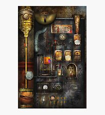 Steampunk - All that for a cup of coffee Photographic Print