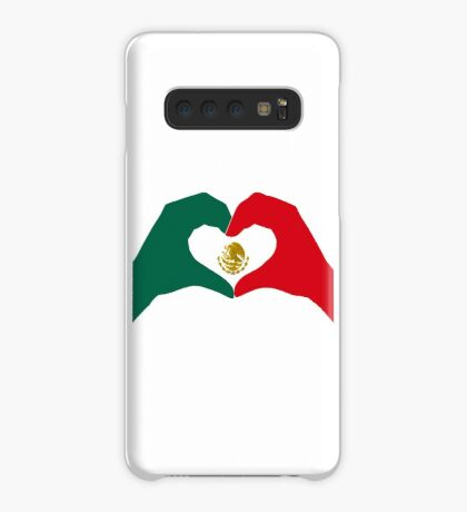 We Heart Mexico Patriot Flag Series  Case/Skin for Samsung Galaxy