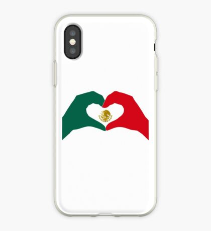 We Heart Mexico Patriot Flag Series  iPhone Case