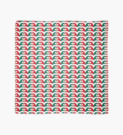 We Heart Mexico Patriot Flag Series  Scarf