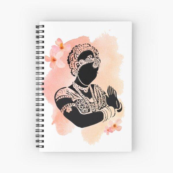 Bharatanatyam Spiral Notebooks Redbubble