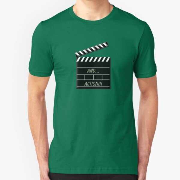 and....action! Slim Fit T-Shirt