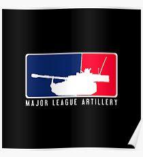 Major League Artillerie Poster