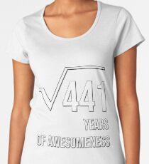 21st Birthday Gifts Shirts for Men and Women Women's Premium T-Shirt