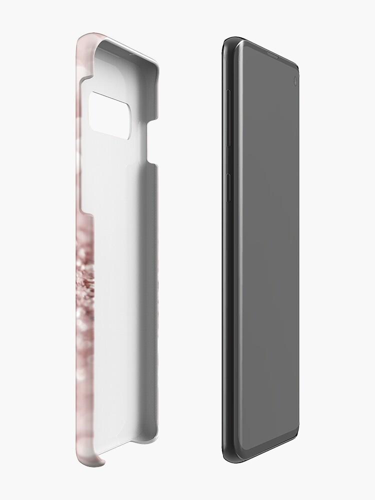 Alternative Ansicht von Glitzernde Rose Hüllen & Klebefolien für Samsung Galaxy