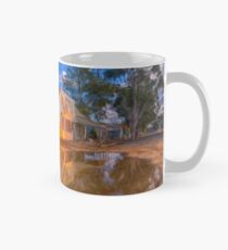 Reflections in Time - Riverina NSW - Digital Painting - LANDSCAPE Mug