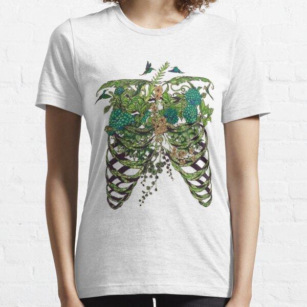 Nature Rib Cage Essential T-Shirt