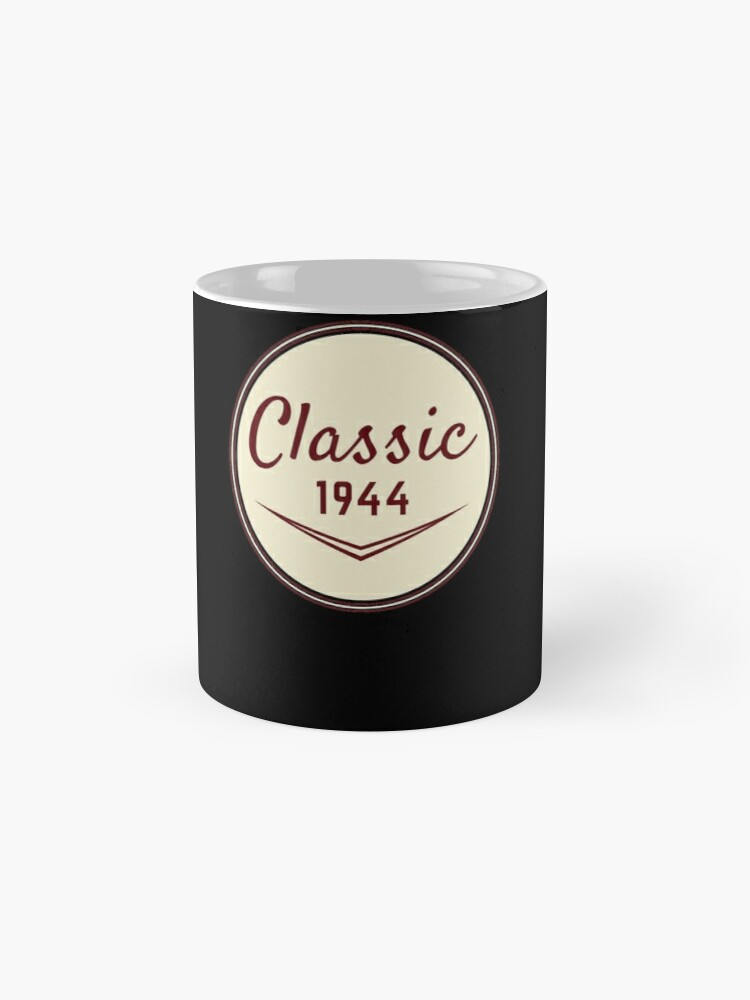 Alternate view of 1944 Birthday Gift Vintage Classic 74th Birthday Present Mugs