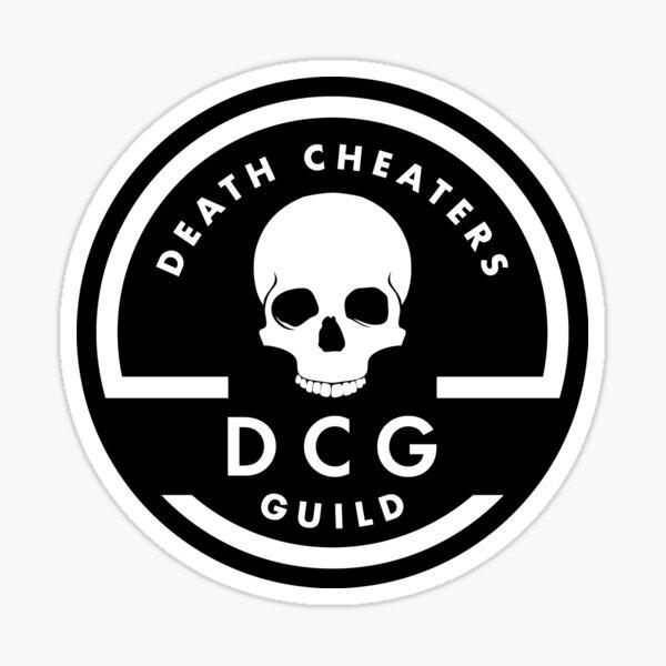 Death Cheaters Guild | D.C.G. Sticker