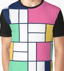 Easter Mondrian Graphic T-Shirt