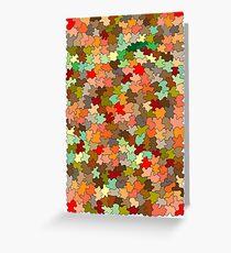Autumnal Greeting Card
