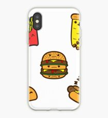 JunkFood Stickers iPhone Case